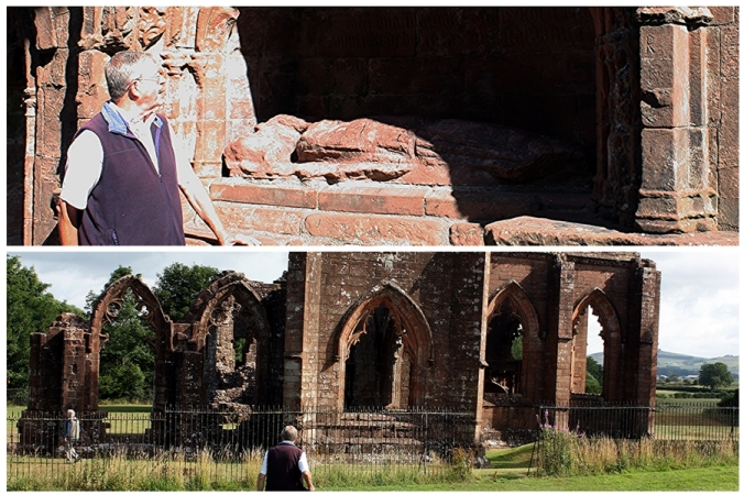 John Acaster at Lincluden priory in search of Masonic connections